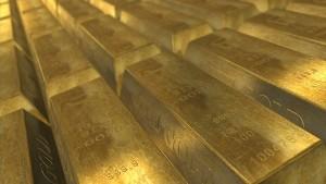 ロンドンにある地下金庫へ大量の金が移送