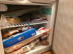 次々と生ものが送られてきて新たに冷凍庫を買う羽目に