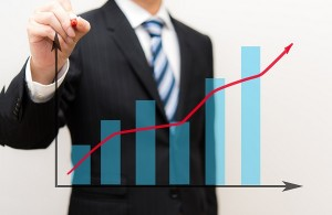 上場企業全体の利益の総額が史上最高となる見込み