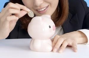 ある程度貯まったら、銀行などに預けてしまうのも賢い貯金のコツ