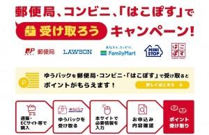 日本郵便が実施する再配達防止のためのキャンペーン(日本郵便公式サイトより)