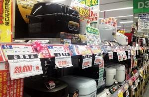 炊飯器は新米の季節に向かって新商品が出始める