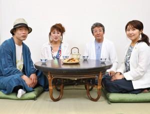 左から、じゃい、山田邦子、布川敏和、堀井亜生弁護士