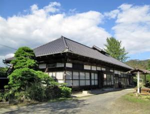 空き家になった古民家が農家民宿になる例も(茨城・常陸太田市の「荒蒔邸」)