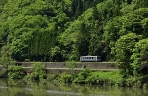2018年春に廃線が決定している三江線