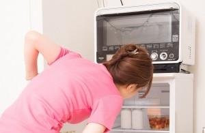 自炊しなければ冷蔵庫の中も常にスッキリ?(イメージ)