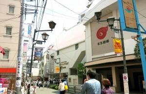 小劇場がひしめく下北沢。サトミさんのチャレンジは続く