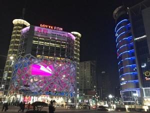 中国人観光客向けの免税店事業も大打撃(ソウル・東大門)