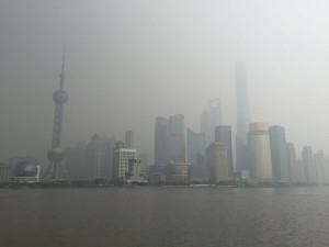 中国でPM2.5対策は喫緊の課題(上海)
