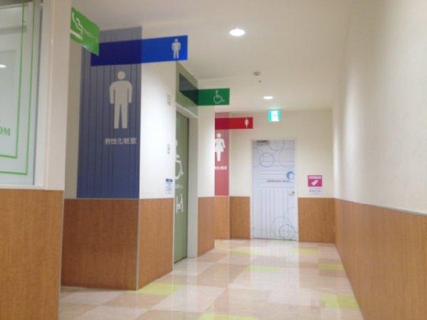 街中で使い勝手のいいトイレはどこにある?(写真はイメージ)