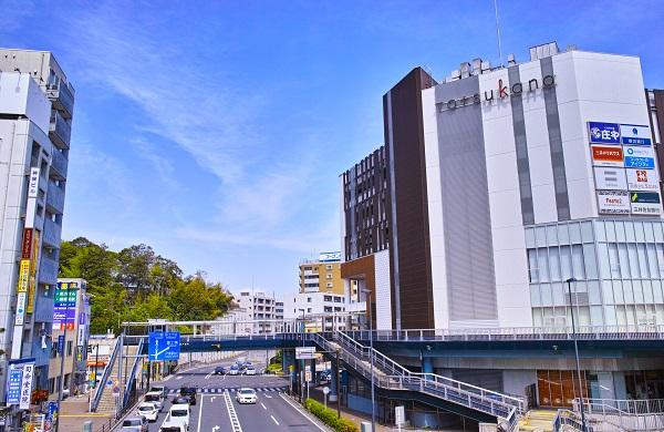 戸塚駅西口は再開発で大きく生まれ変わった