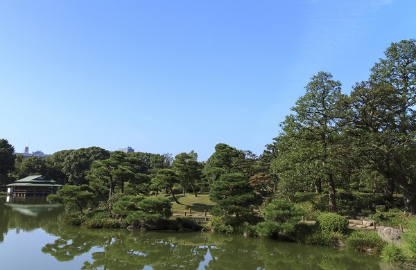 近隣には清澄庭園もあり自然も楽しめる