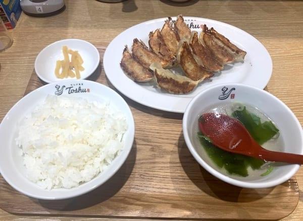 れんげ食堂Toshuの『W餃子定食』