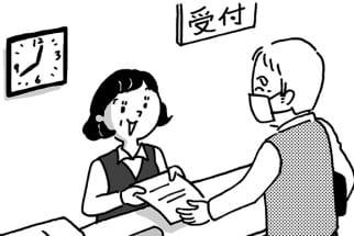 医療事務の資格を取得して再就職した例も(イラスト:池田奈鳳子)