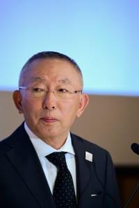 ファーストリテイリング会長兼社長の柳井正氏(AFP/時事)