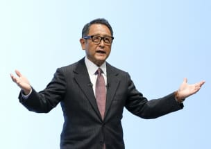 トヨタの次期社長候補、現社長・章男氏を叱り飛ばした元上司