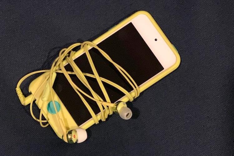 長年使っている「iPod touch」はまだまだ元気