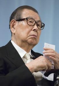 セブン&アイHD名誉会長の伊藤雅俊氏(写真:時事通信フォト)