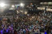 今年のニコニコ超会議は4月27、28日に開催される(写真は2017年の様子。時事通信フォト)