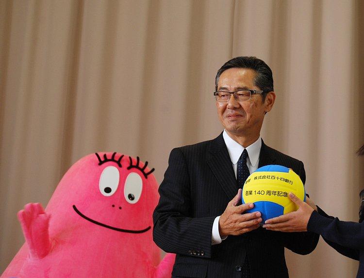 百十四銀行の綾田裕次郎・代表取締役頭取は綾田家として3代目
