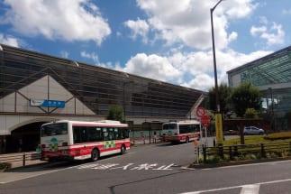 """かつては""""平屋""""だった経堂駅も今ではこんな形に"""