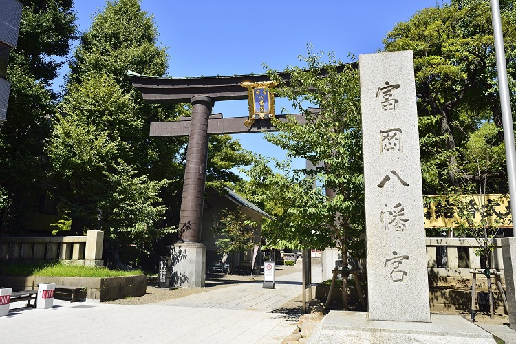 門前仲町と言えば、「富岡八幡宮」のお膝元