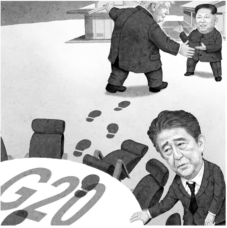 国際会議で何も決まらないのはなぜか(イラスト/井川泰年)