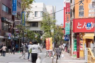 高架が完成すれば商店街歩きの楽しみはさらに増すはず