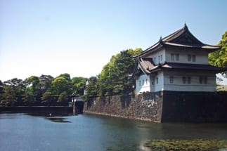 江戸城遺構のひとつである富士見櫓も
