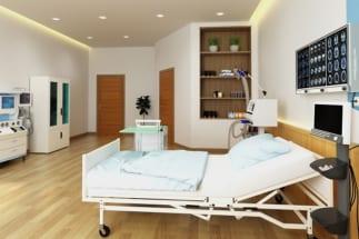 月またぎの入院に消費増税がどう影響するか(イメージ)