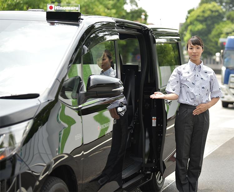 皇室ゆかりの地を巡るタクシーツアーも注目(写真提供:日の丸交通)