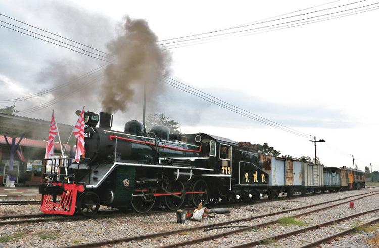 タイに渡った旧国鉄C56形(写真提供/白川淳)