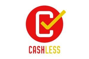 「ポイント還元」を受けられるお店を見分けるにはこのマークに注目(「キャッシュレス・消費者還元事業」ロゴマーク)