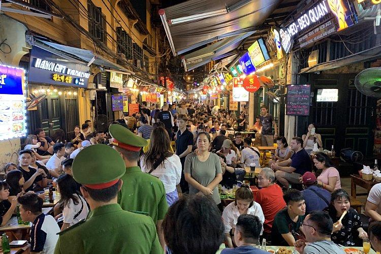 ベトナム・ハノイで見た韓国人の存在感とは?(筆者撮影)