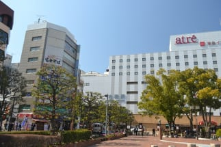 大森駅東口のバスターミナルの充実度は23区内屈指