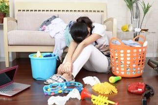 「名もなき家事」に負担を感じる人は約8割にのぼるという(イメージ)