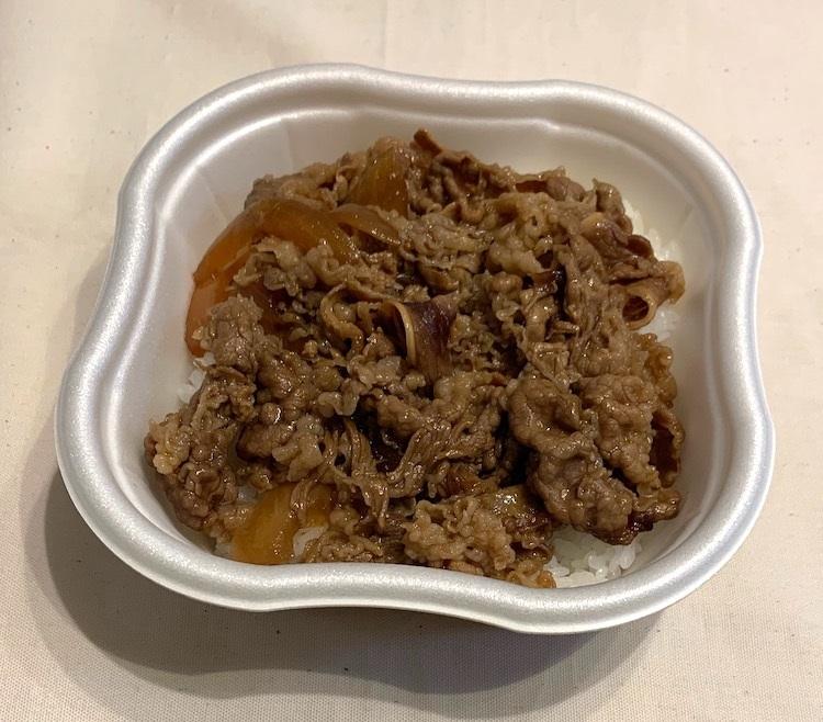 セブン-イレブン『熟成肉の特製牛丼 具の大盛』