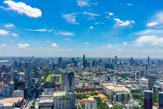 実際にタイに移住してわかった日本とのコスパの違いとは?(バンコクの街並み)