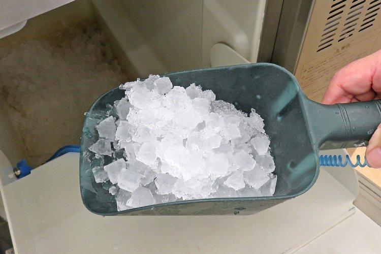 大量の氷を持ち帰った男が逮捕された理由は?(イメージ)