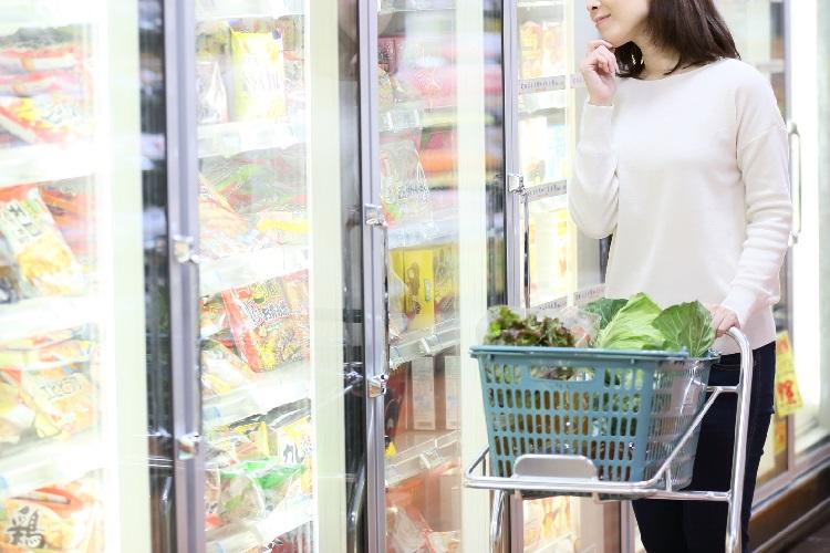 種類豊富な冷凍商品が食卓に彩りを与えている(イメージ)