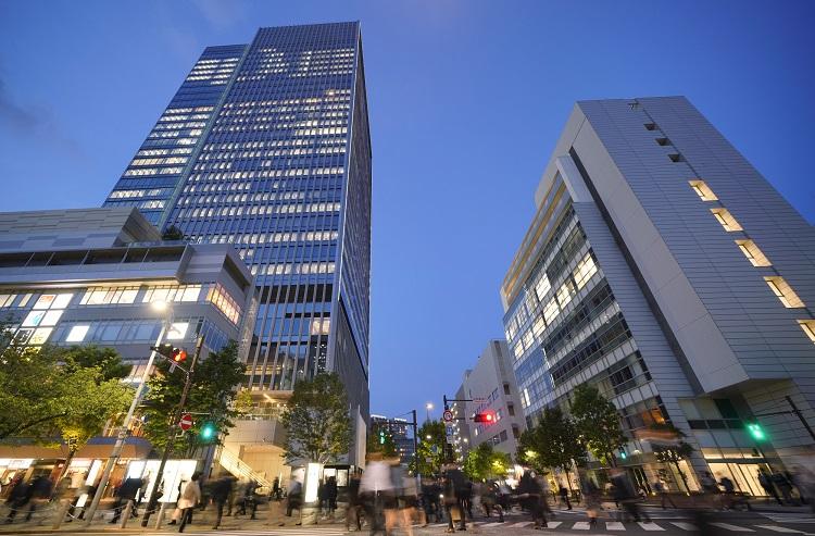 田町駅の芝浦口も再開発ですっかり様変わり
