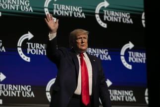 トランプ大統領の対抗馬となる民主党候補は誰か?(AA/時事通信フォト)