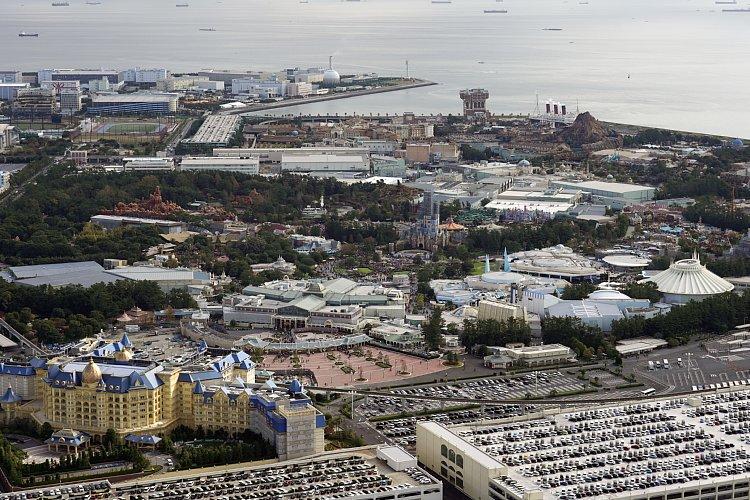 東京ディズニーリゾートが浦安に誘致された背景とは(写真:時事通信フォト)