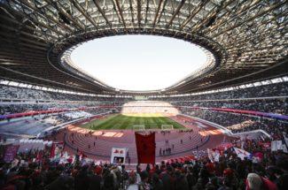 東京五輪終了後の新国立競技場はどうなる?(EPA=時事)