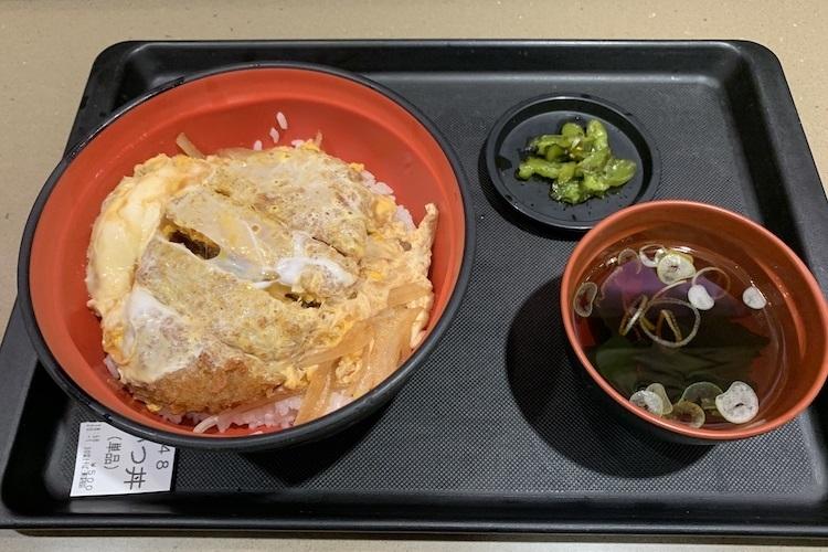 名代富士そばの「かつ丼」