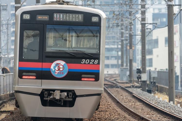 下町エリアの生活を支える京成線