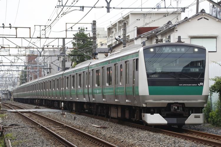 埼玉から東京へのアクセスの要(JR埼京線)