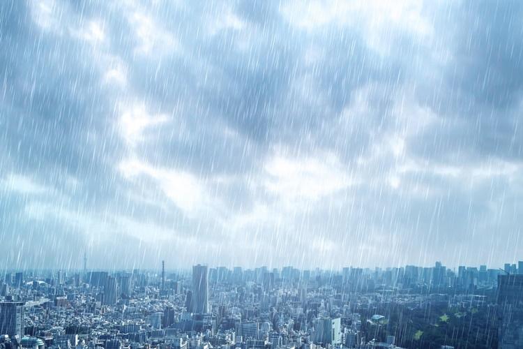 台風被害に遭った場合、税金はどうなる?(イメージ)