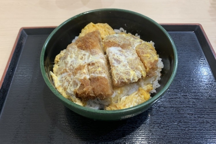 ゆで太郎(ゆで太郎システム)の「ジャンボかつ丼」