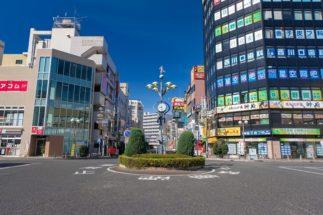 変貌を遂げたJR西川口駅の駅前